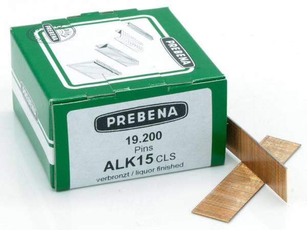 Prebena Pins Type ALK verbronzter Stahl - Stifte mit Kopf