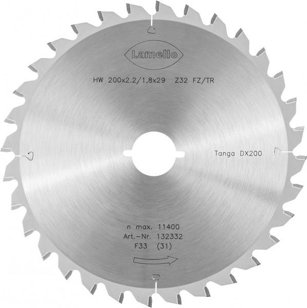 Sägeblatt, Z32, ø 200 mm für eine Schnitttiefe bis 70 mm