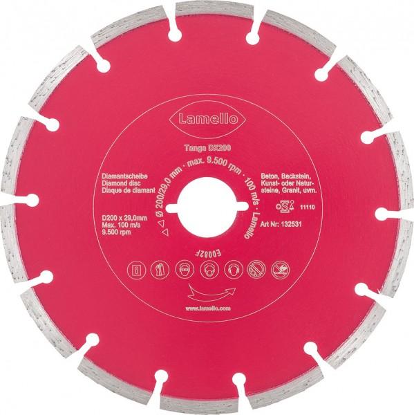Diamant-Trennscheibe, ø 200 mm für eine Schnitttiefe bis 70 mm
