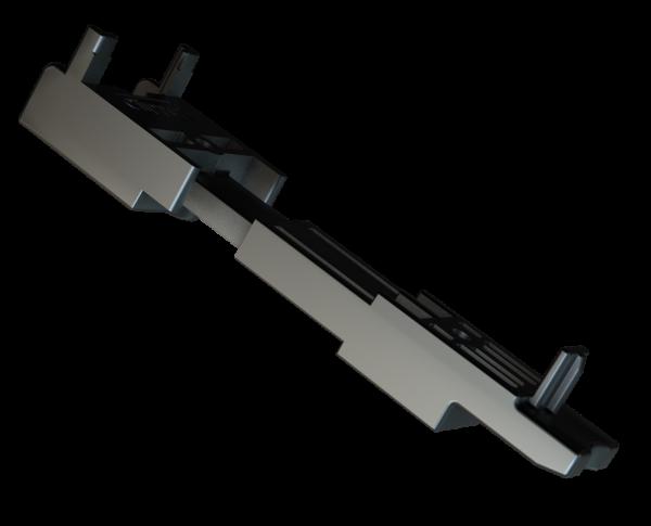 CLIPPER für Alu-Unterkonstruktion, unsichtbare Befestigung für Dielen ohne Nut