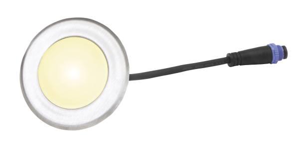 TerraLight Terrassen LED Einzelspot - rund Ø 60 - eckig 60 x 60 mm
