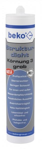 Strukturdicht - Dichtstoff mit Marmorgranulat