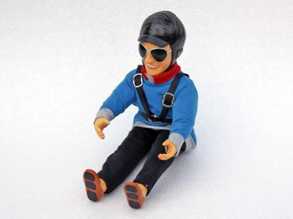 Pilotenpuppe BEN blau
