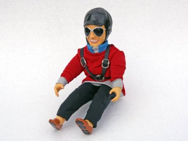 Pilotenpuppe BEN Rot
